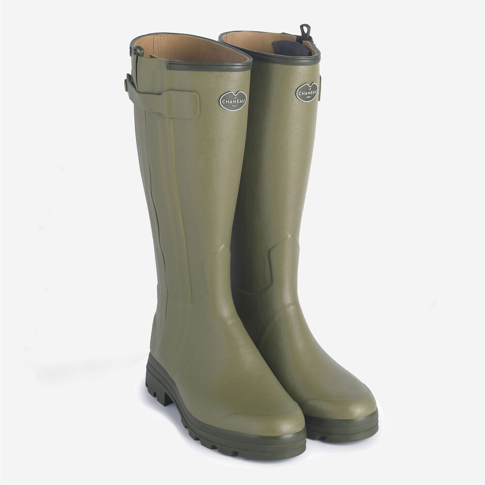 Le Chameau Le Chameau Chasseur Ladies Leather Lined Wellingtons