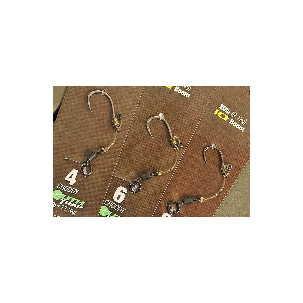 Korda Ready Tied Hinge Rig - Barbless Unknown