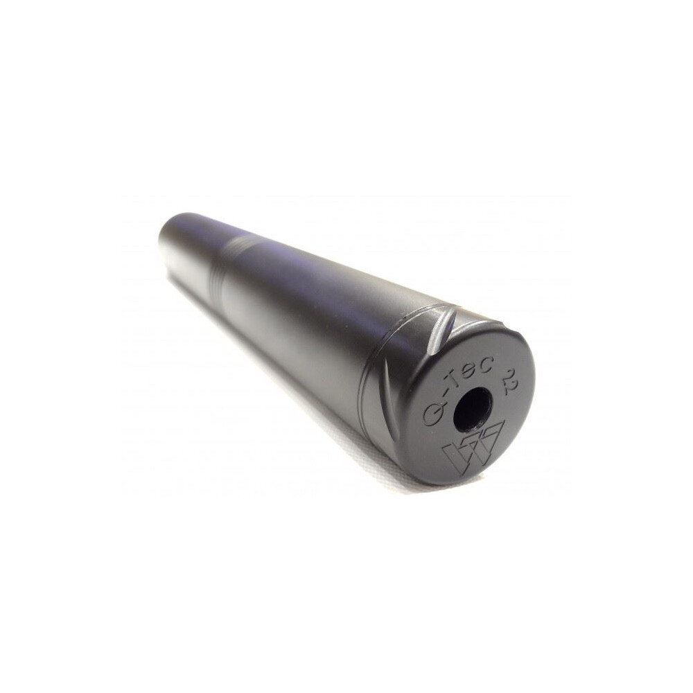 "Air Arms Q-Tec Air Rifle Silencer - S500/S510 (To Fit 1/2"" UNF Female)"