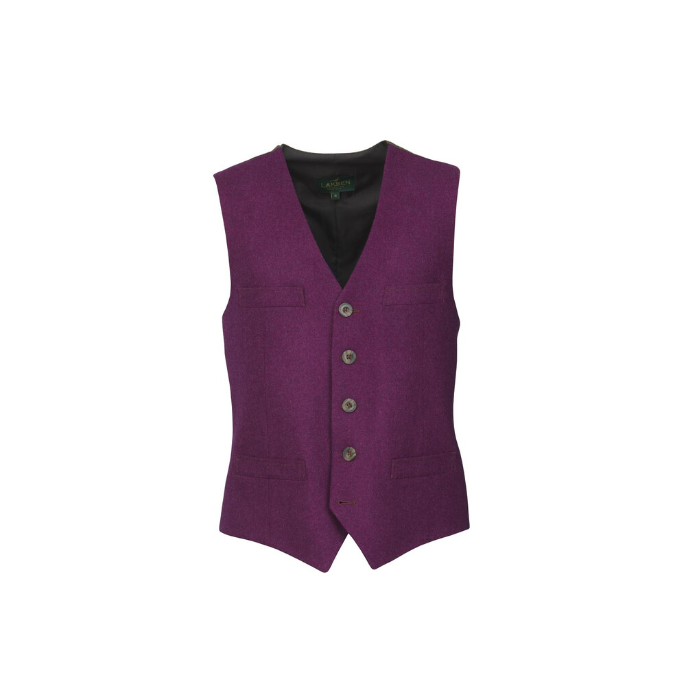 Laksen Sologne Colonial Dress Vest Heather