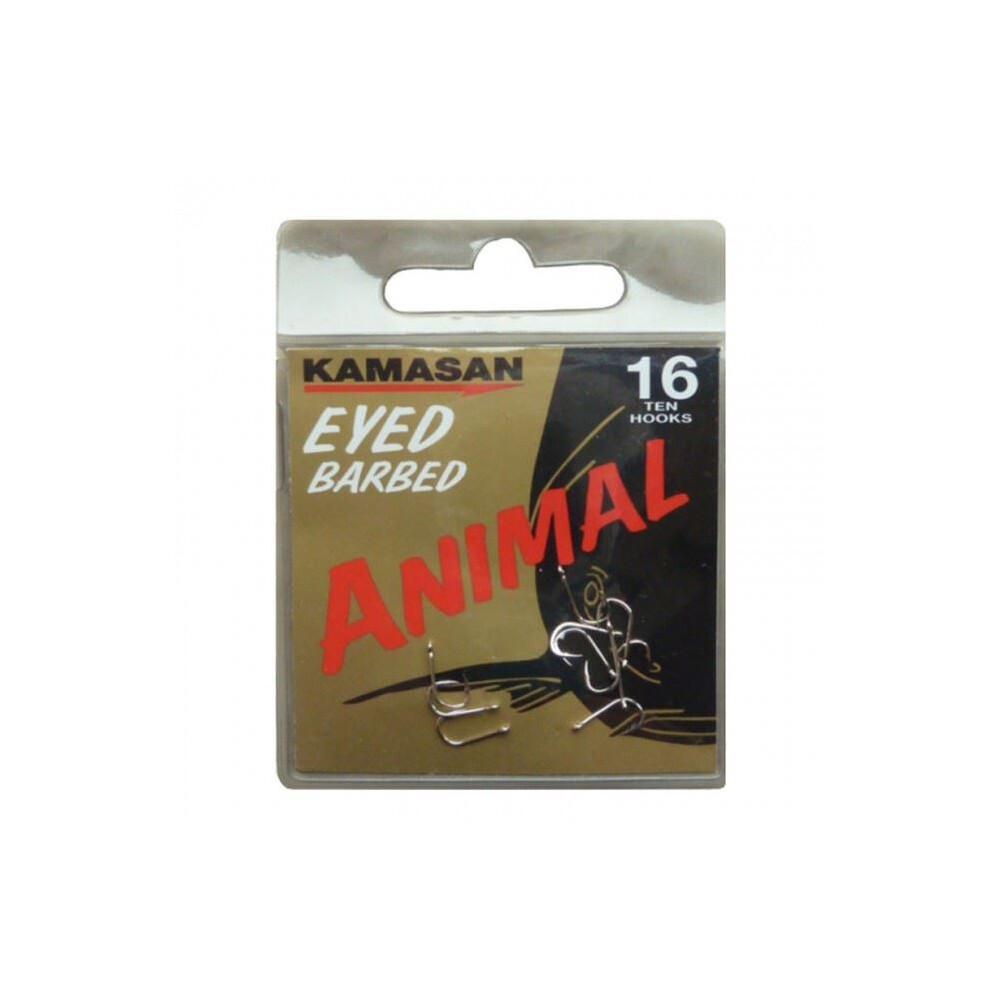 Kamasan Animal Hooks - Eyed - Barbed