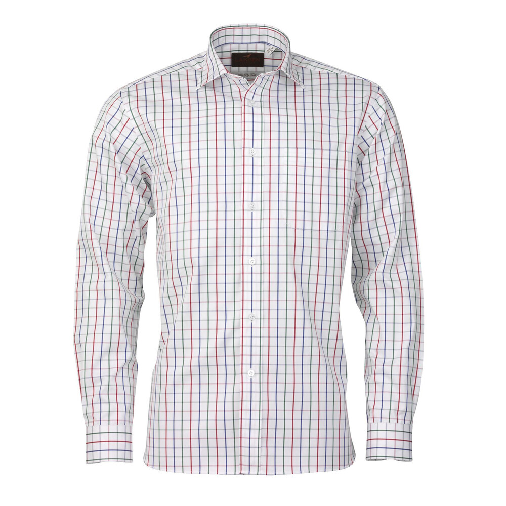 Laksen Craig Shirt - Blue/Red/Green