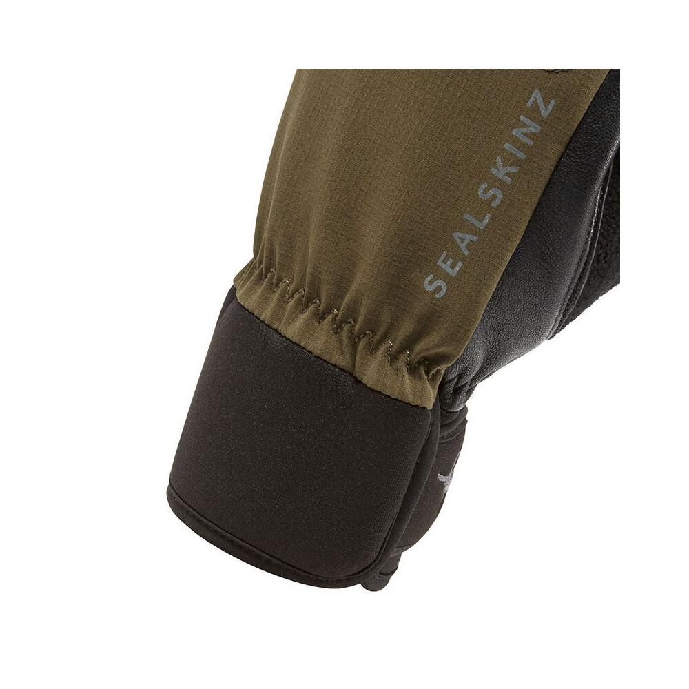 Sealskinz Shooting Gloves - Olive Green