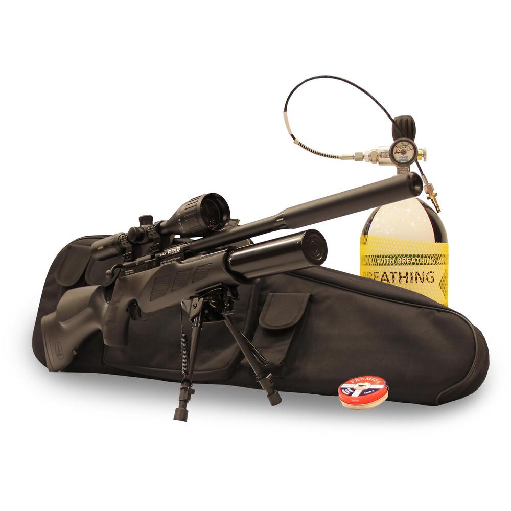 BSA R10 SE Super Carbine Air Rifle Combo Upgrade - Black - .22