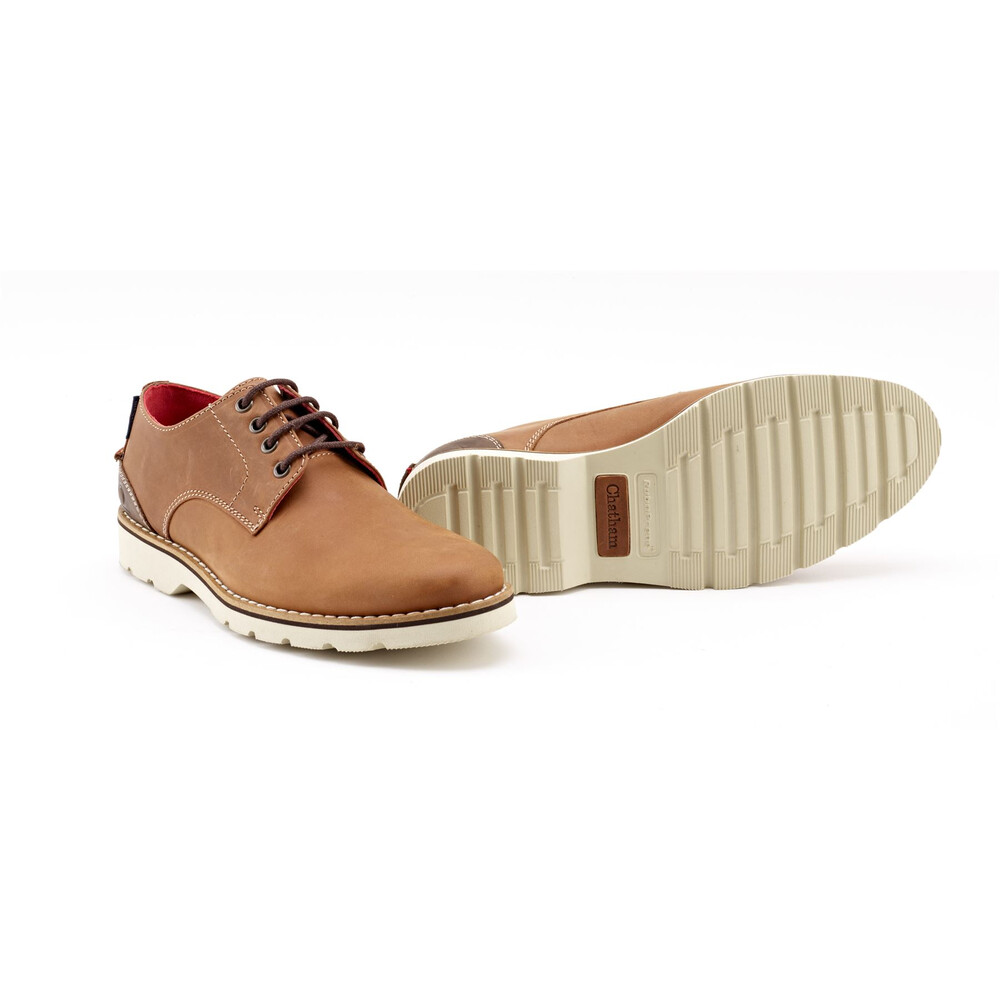 Chatham Dexter II Leather Lace Up Shoe Tan