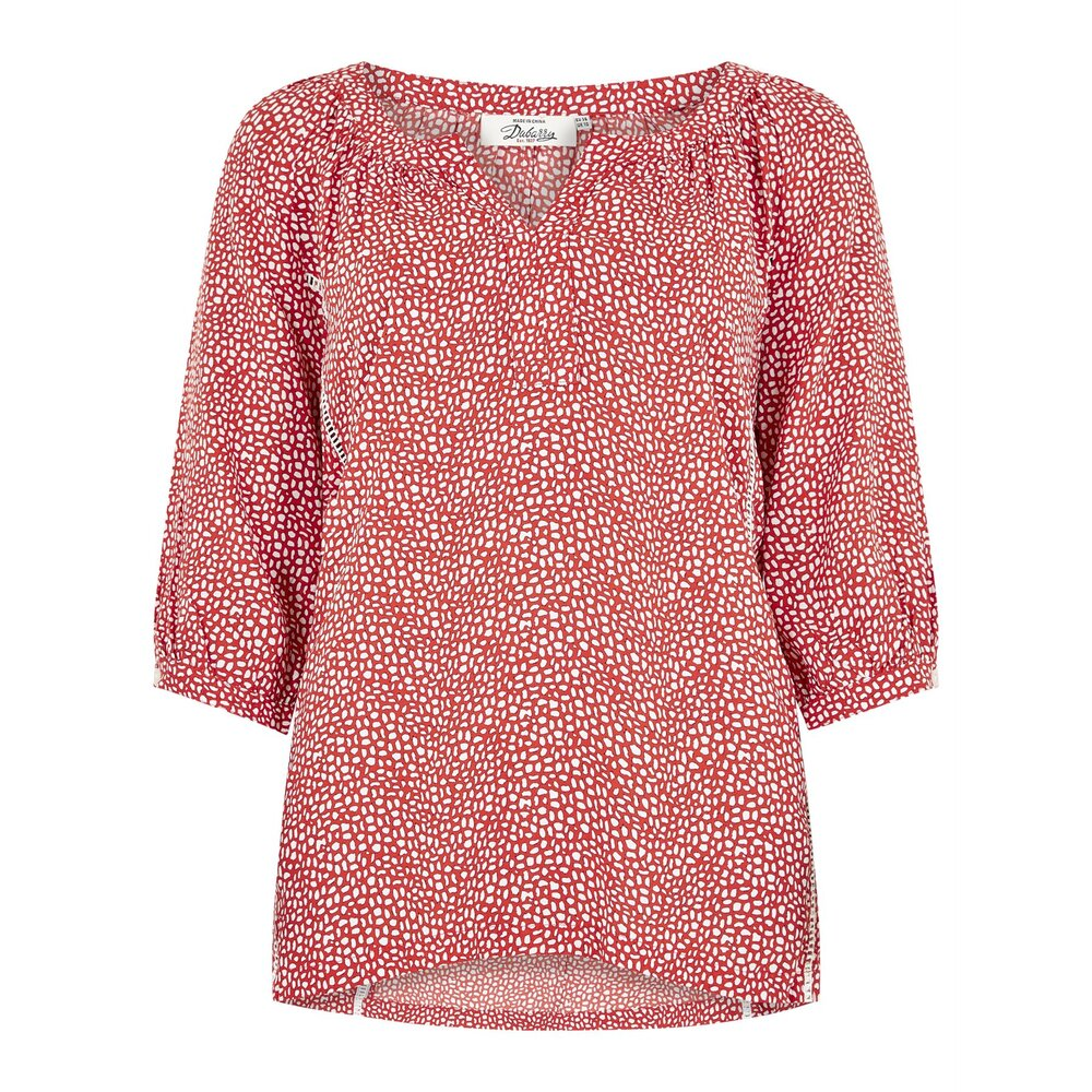 Dubarry Dubarry Dahlia Ladies Print Top - Poppy