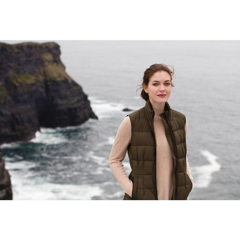 Dubarry Spiddal Gilet - Navy Green