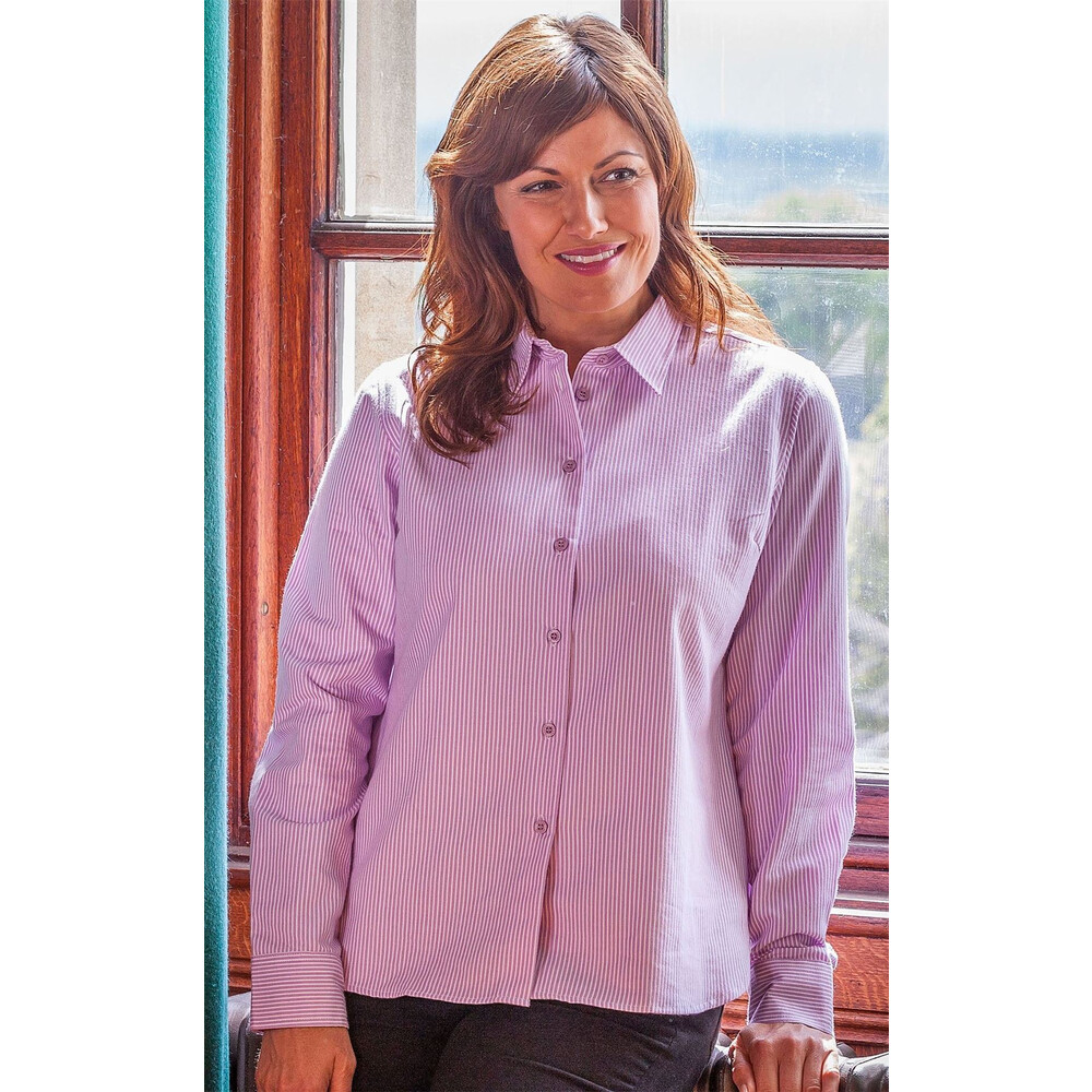 HOGGS OF FIFE Hoggs of Fife Bonnie Ladies Country Shirt Purple