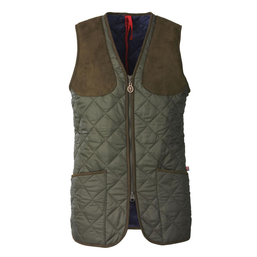 Laksen Cheltenham Ladies Quilted Vest Green