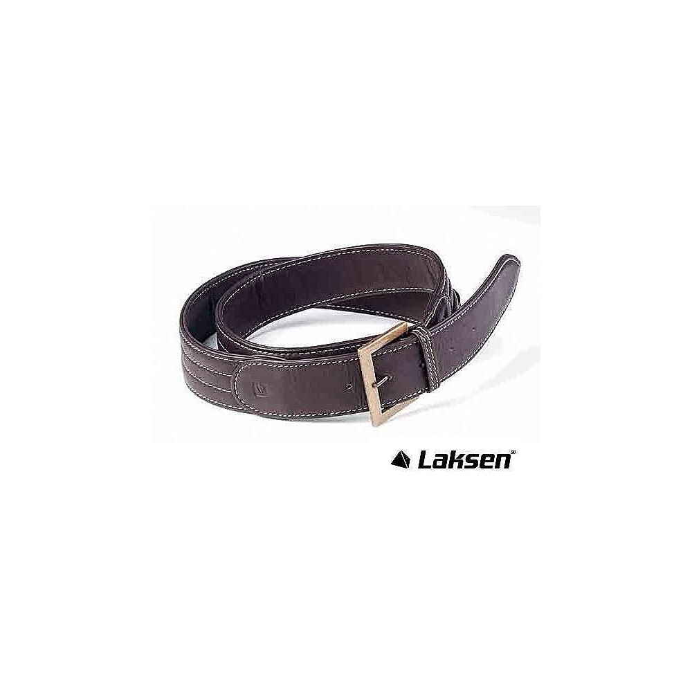 Laksen Leather Belt - Brown Brown
