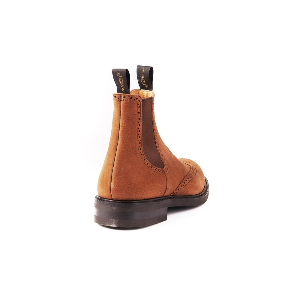 Dubarry Fermanagh Brogue Chelsea Boot Brown