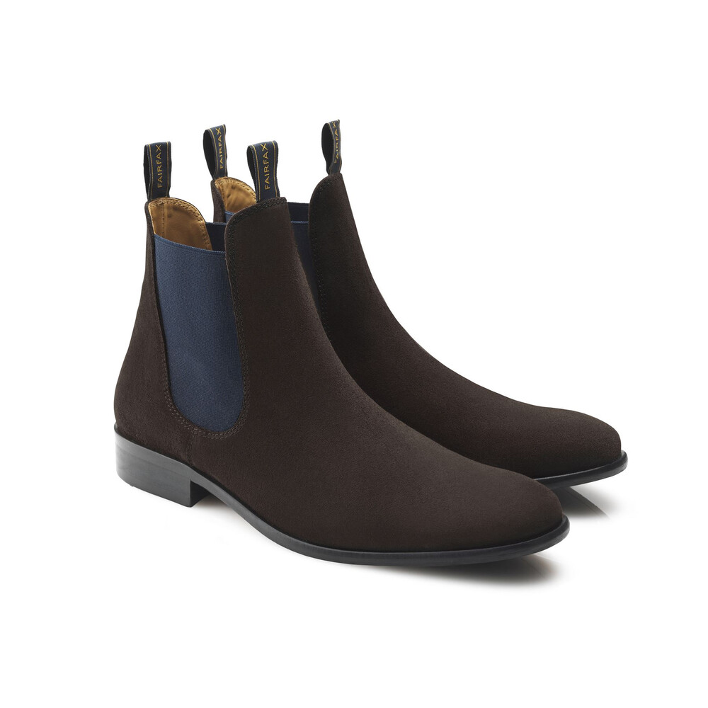 Fairfax & Favor Fairfax & Favor Chelsea Boot - Chocolate