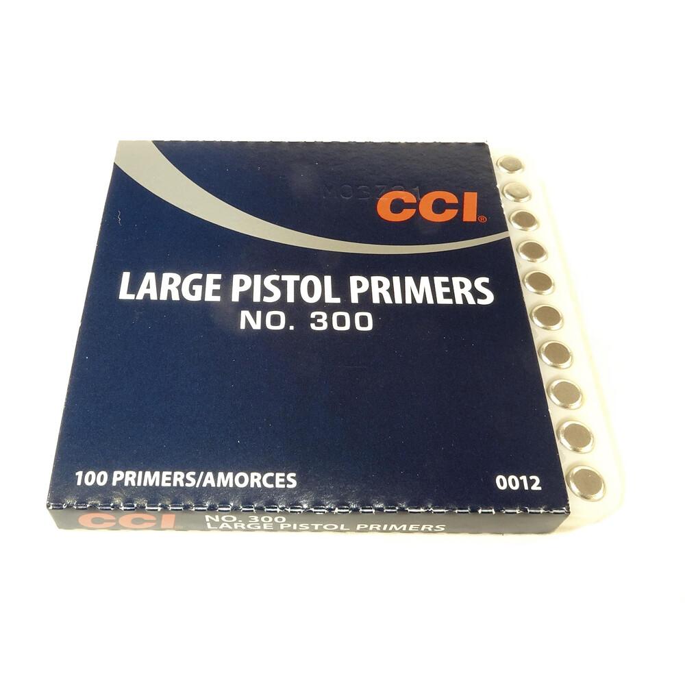 CCI Primers - #300 Standard Large Pistol Unknown