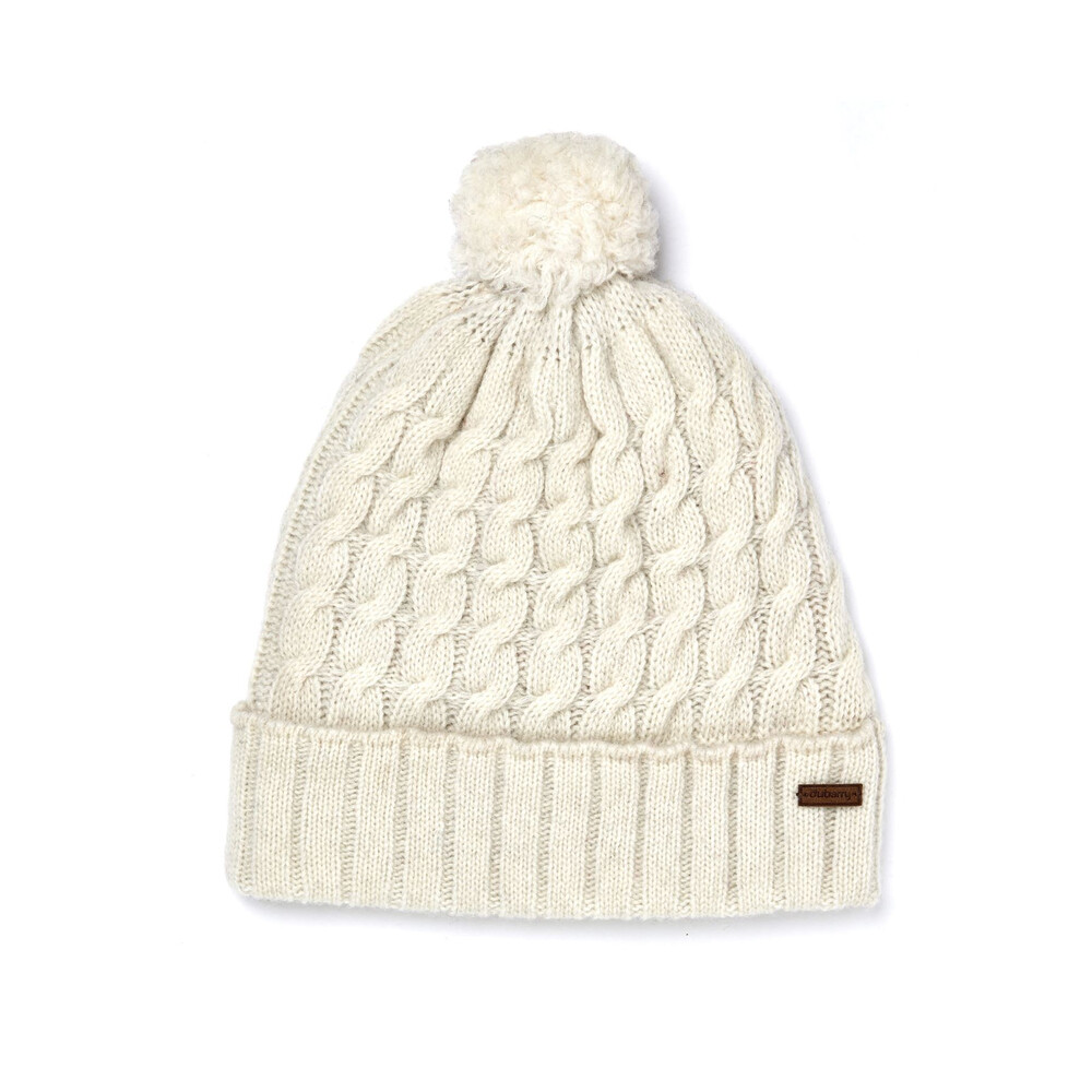 Dubarry Athboy Knitted Hat - Ivory White