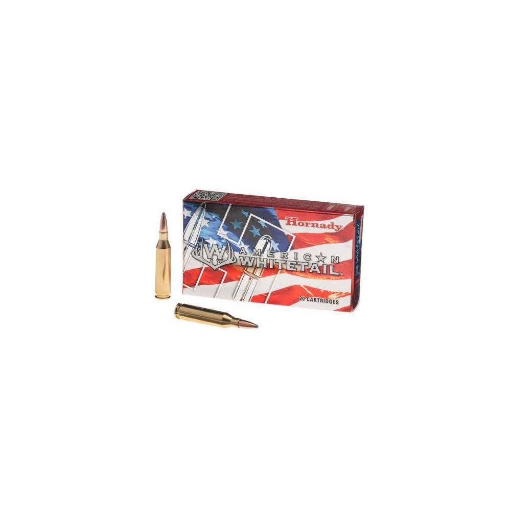 Hornady .243 Ammunition - 100gr - American Whitetail BTSP Interlock