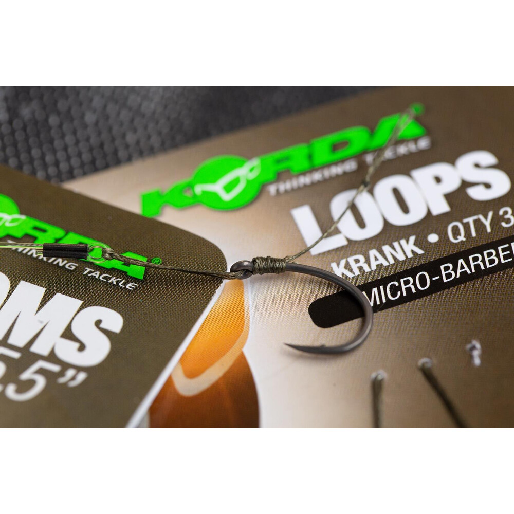 Korda Loop Rigs - Krank - Barbed Unknown