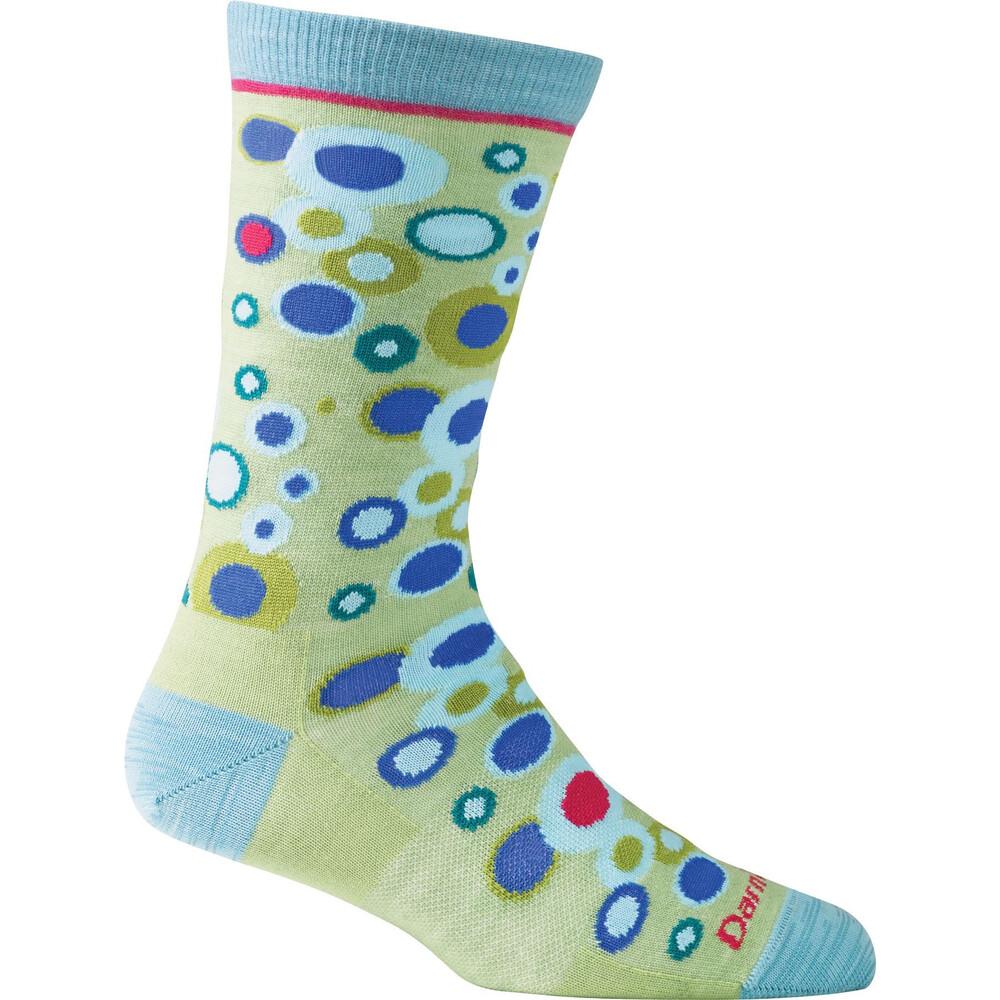 Darn Tough Darn Tough Bubbles Crew Light Ladies Sock - Mojito