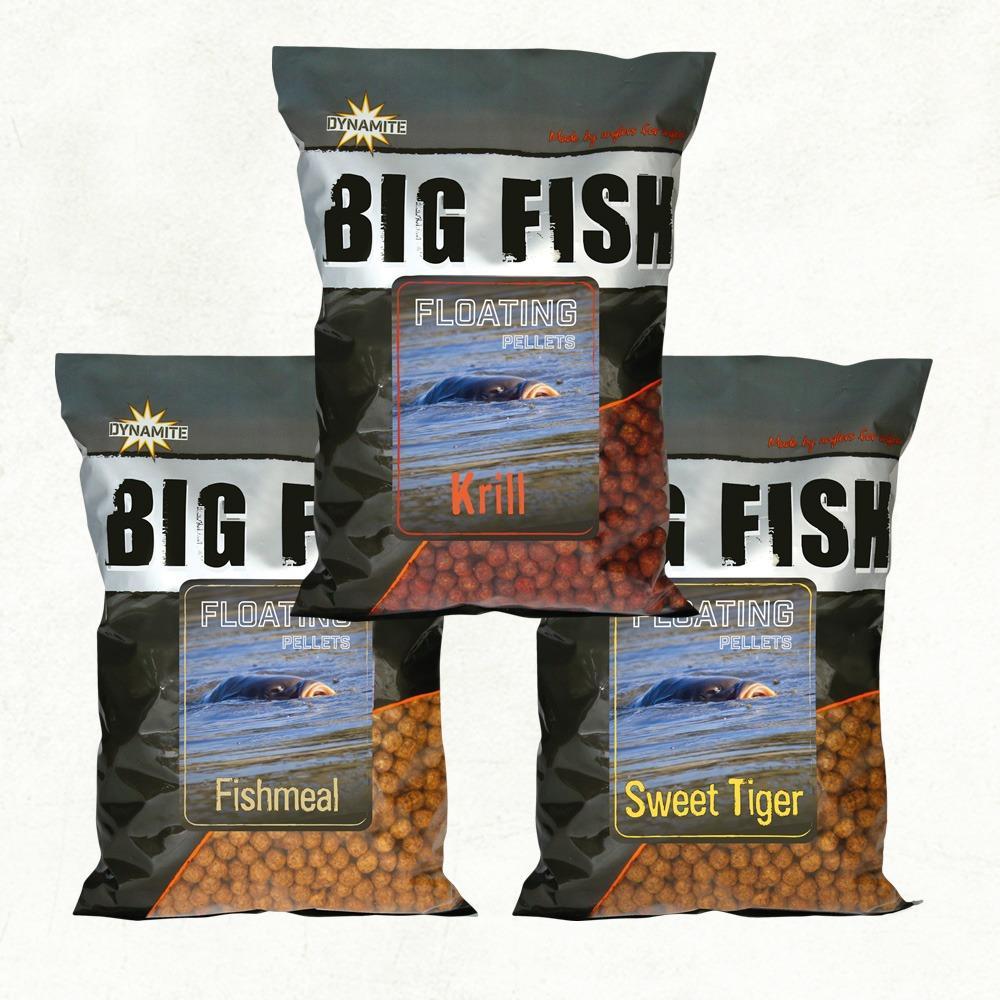 Dynamite Baits Big Fish Floating Pellets - 11mm