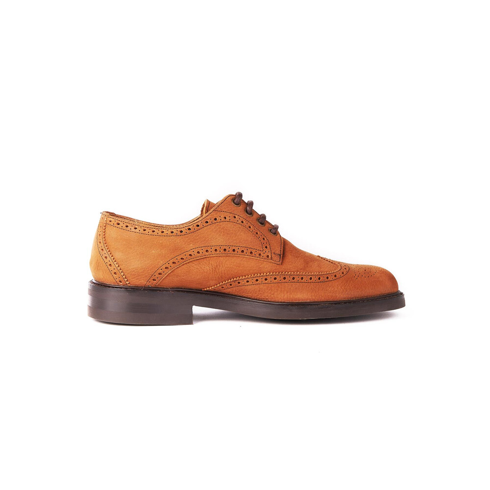 Dubarry Derry Brogue Derby Shoe Brown