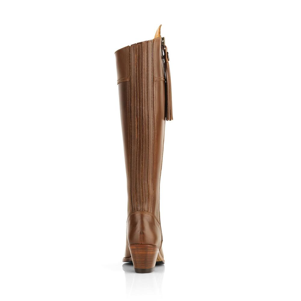 Fairfax & Favor Heeled Regina Leather Boot Tan
