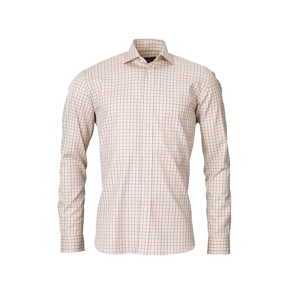 Laksen Grouse 19 Shirt - Sand/Oxide/Royal Blue