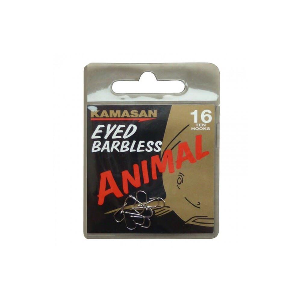 Kamasan Animal Hooks - Eyed - Barbless
