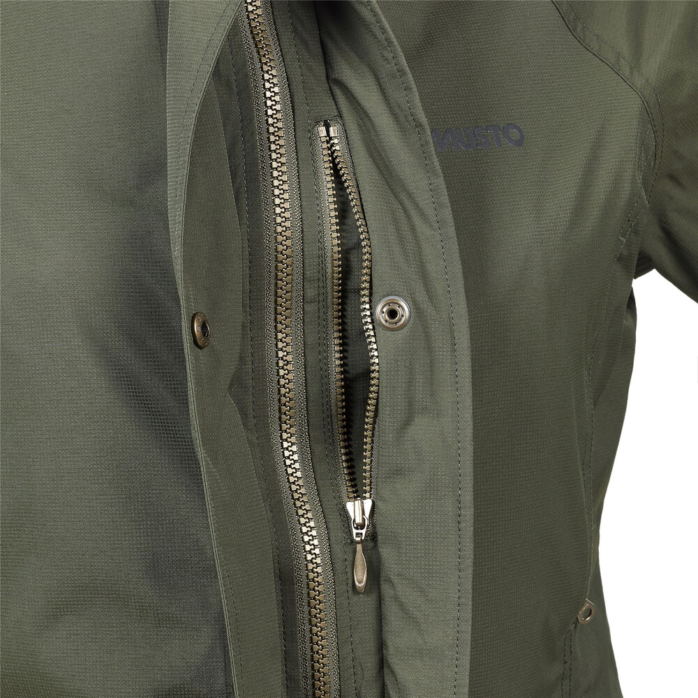 Musto Women's Fenland BR2 Packaway Jacket Dark Moss