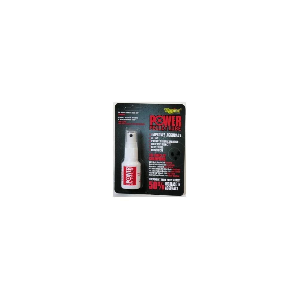 Napier Power Pellet Lube - 25ml Spray Bottle