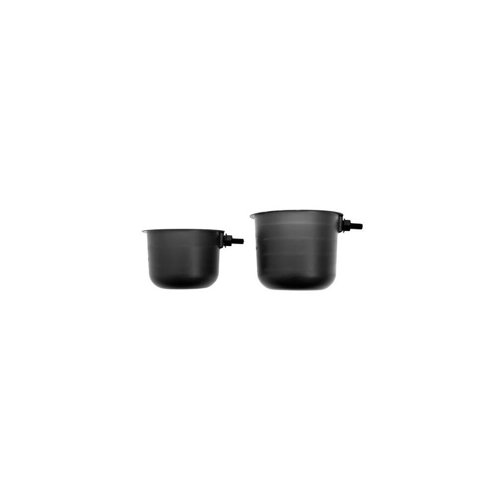 Drennan Pole Pots - Black Black