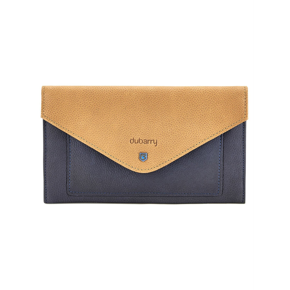 Dubarry Dubarry Athlone Leather Envelope Wallet - Navy/Tan