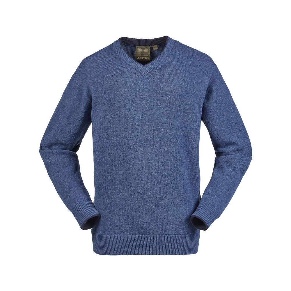 Musto Shooting V-Neck Knit -  Lake