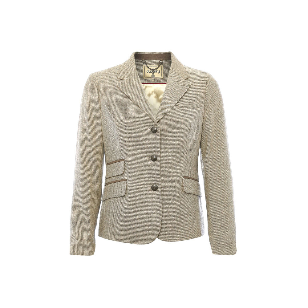 Dubarry Dubarry Buttercup Three Button Tweed Jacket - Sable