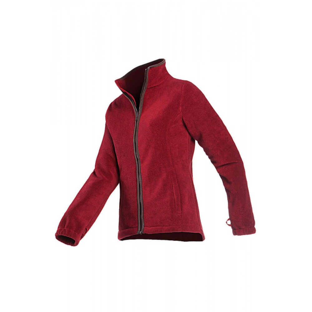 Baleno Sarah Fleece Jacket Burgundy