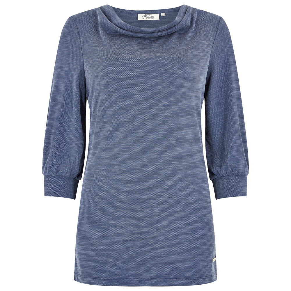 Dubarry Dubarry Ballymote Three Quarter Sleeve Top - Navy