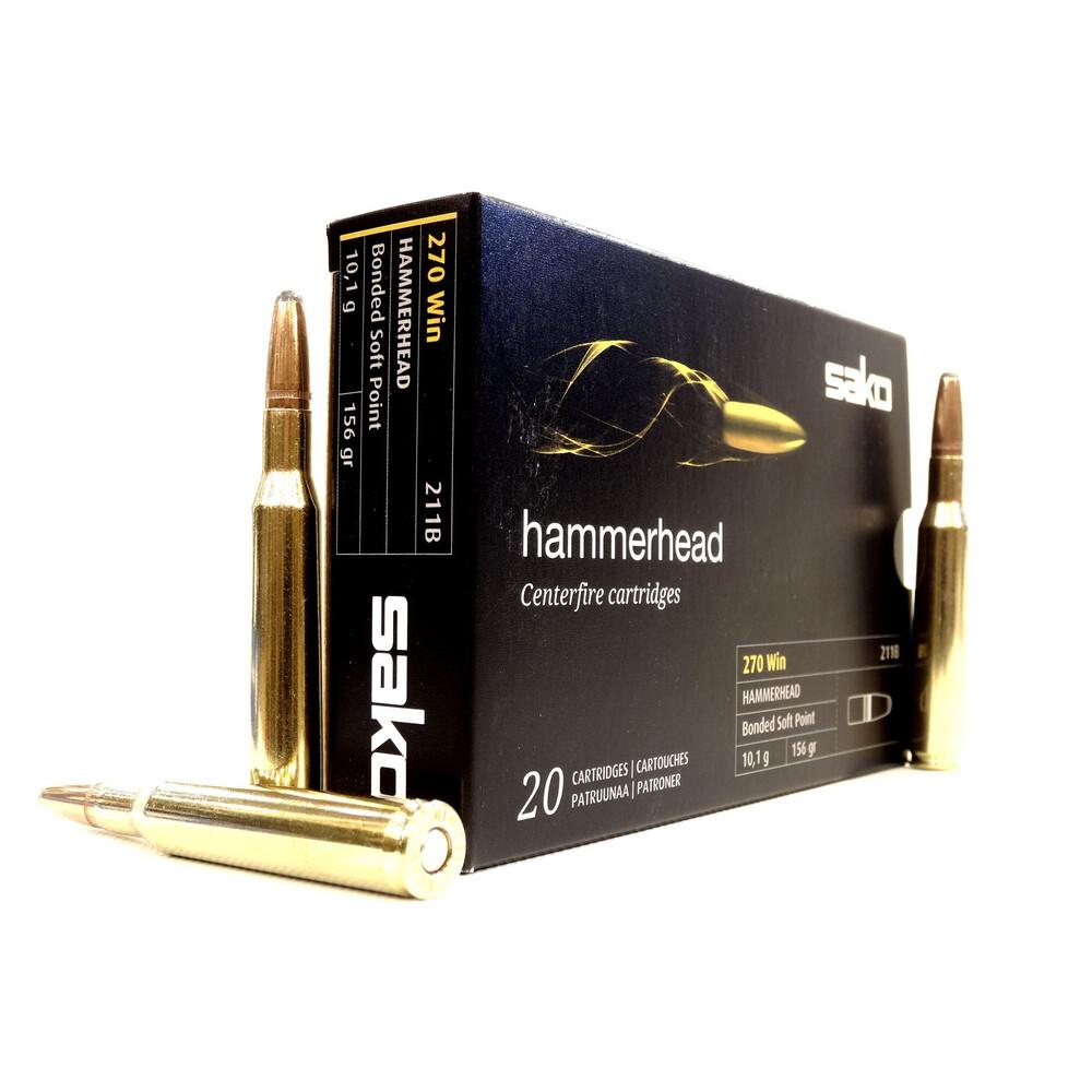 Sako .270 Ammunition - 156gr - Hammerhead