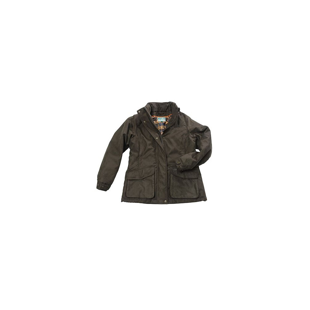 HOGGS OF FIFE Hoggs of Fife Ladies Hunting Jacket - Field Green