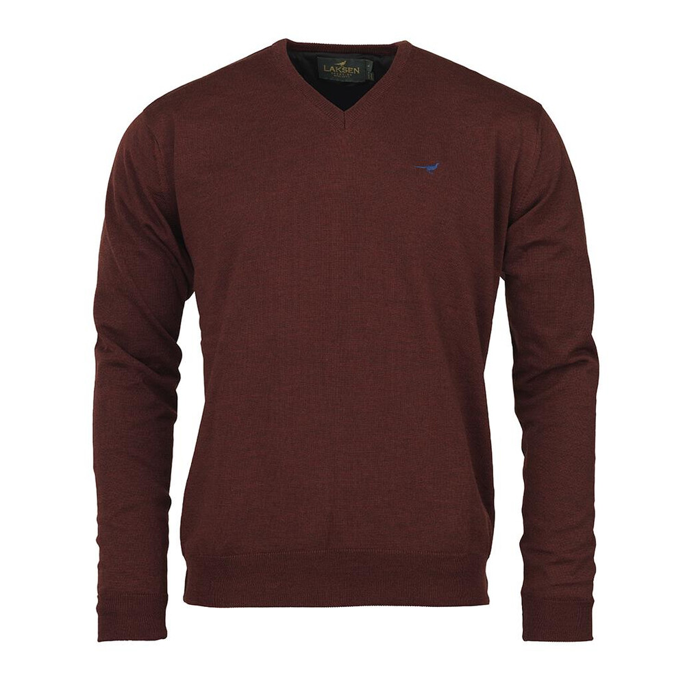 Laksen Grantham Windstopper Jumper - Burgundy