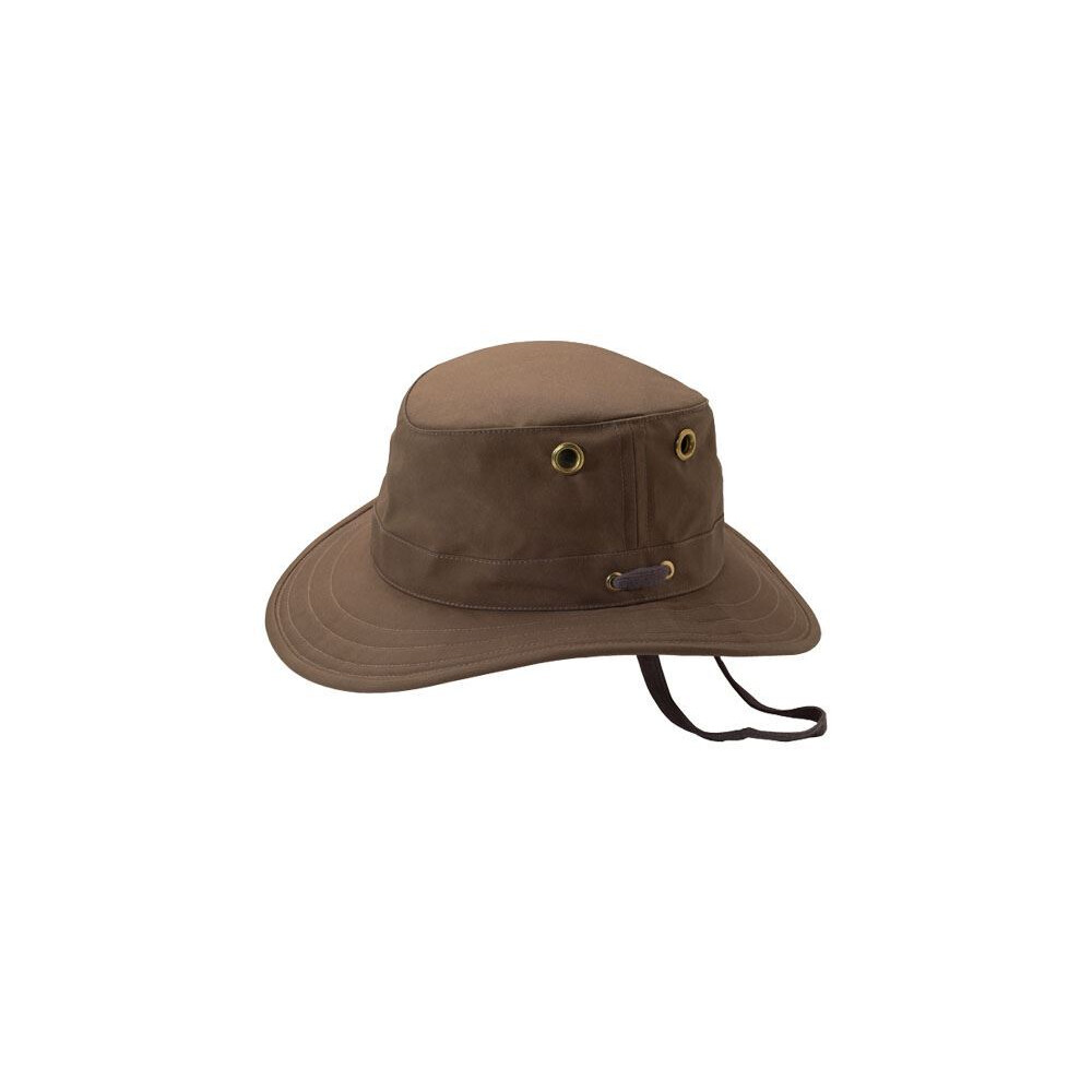 Tilley Outback Waxed Cotton Hat - British Tan Brown