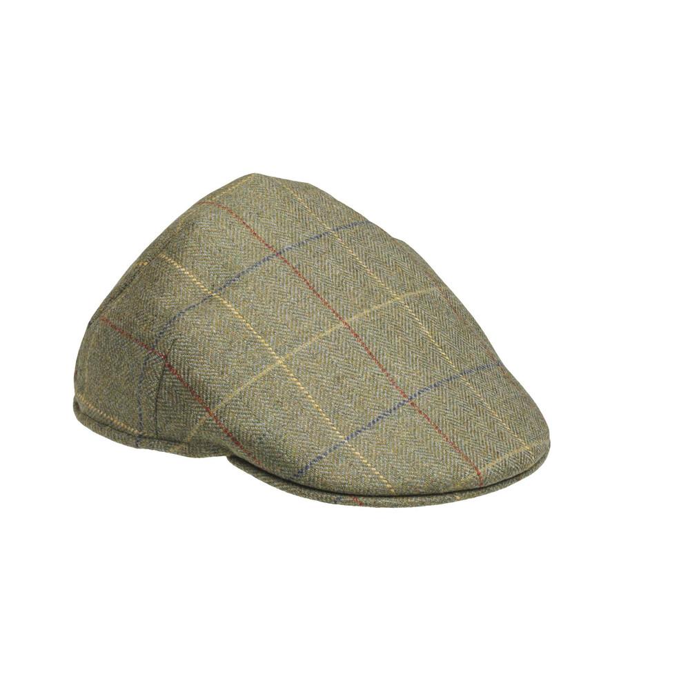 Laksen Woodhay Tweed Balmoral Cap