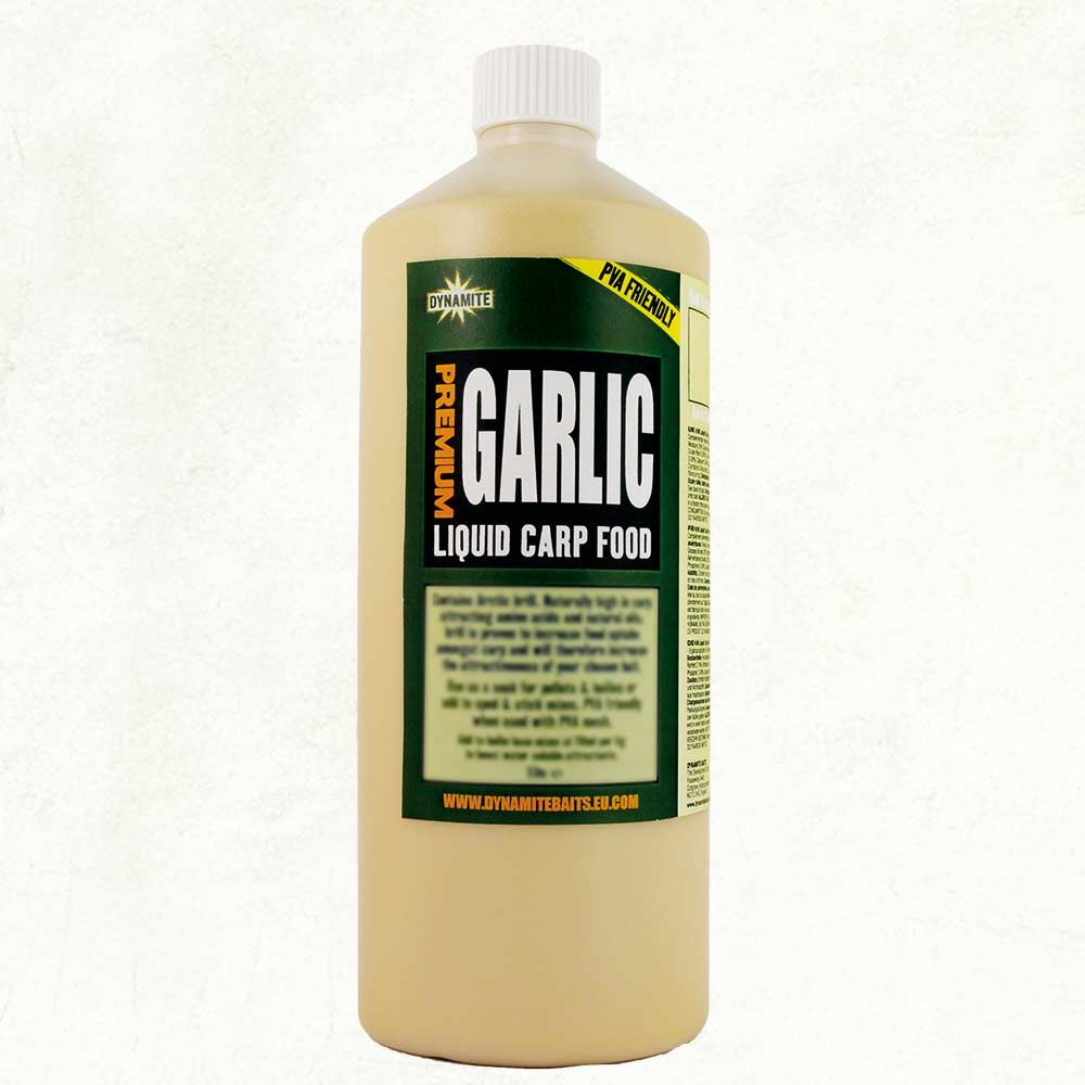 Dynamite Baits Liquid Carp Food - Garlic