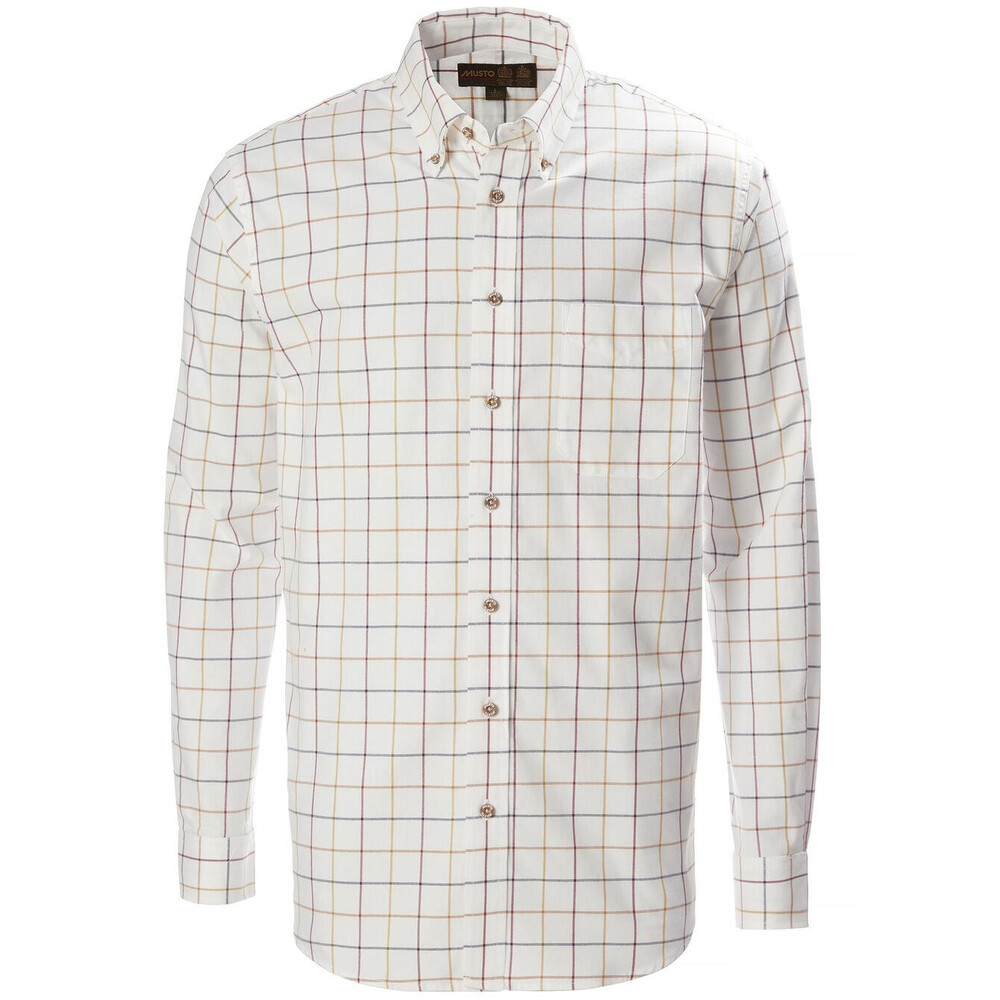 Musto Musto Classic Button Down Shirt - Wimbourne Gold