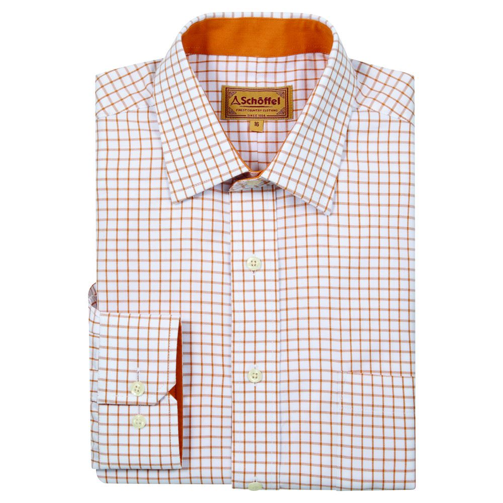 Schoffel Schoffel Cambridge Shirt - Ochre