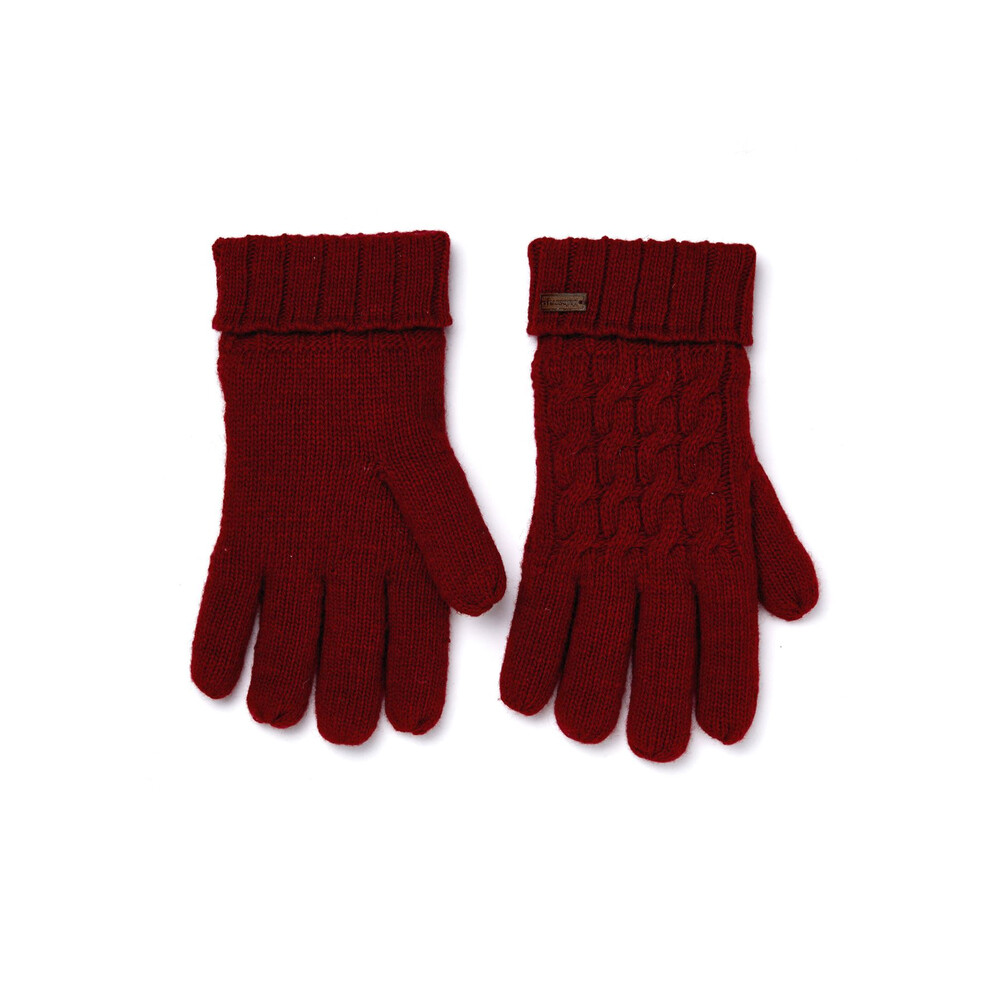Dubarry Dubarry Arklow Knitted Gloves - Cardinal