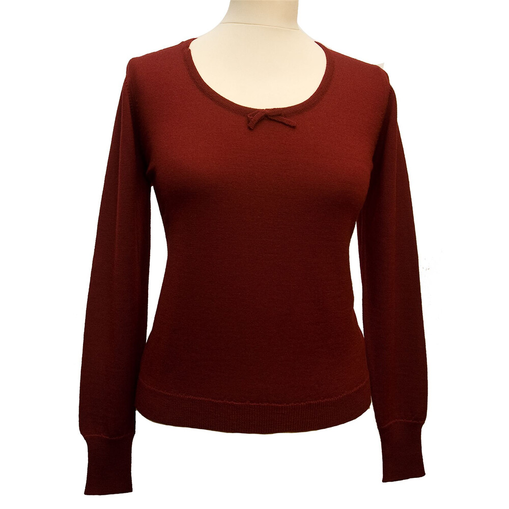 William Lockie William Lockie Muriel Scoop Neck Pullover