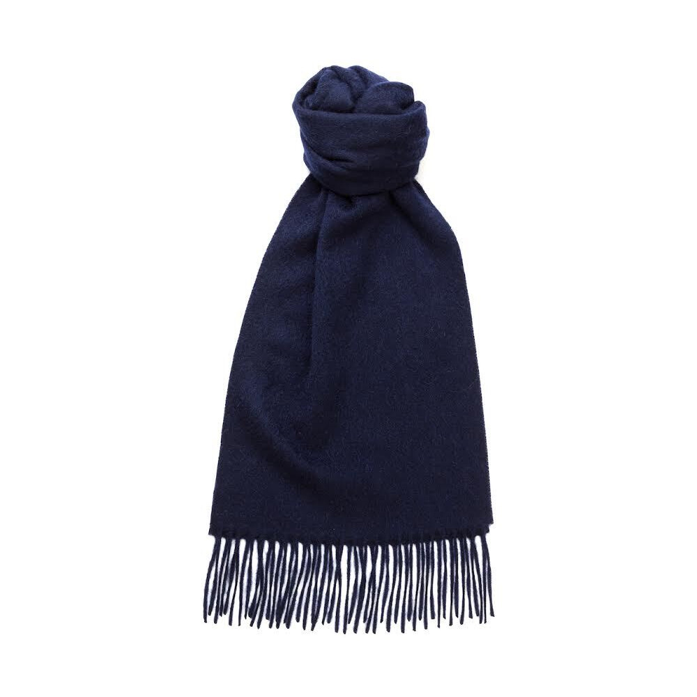 Murray Hogarth Hogarth Lambswool Scarf - Navy