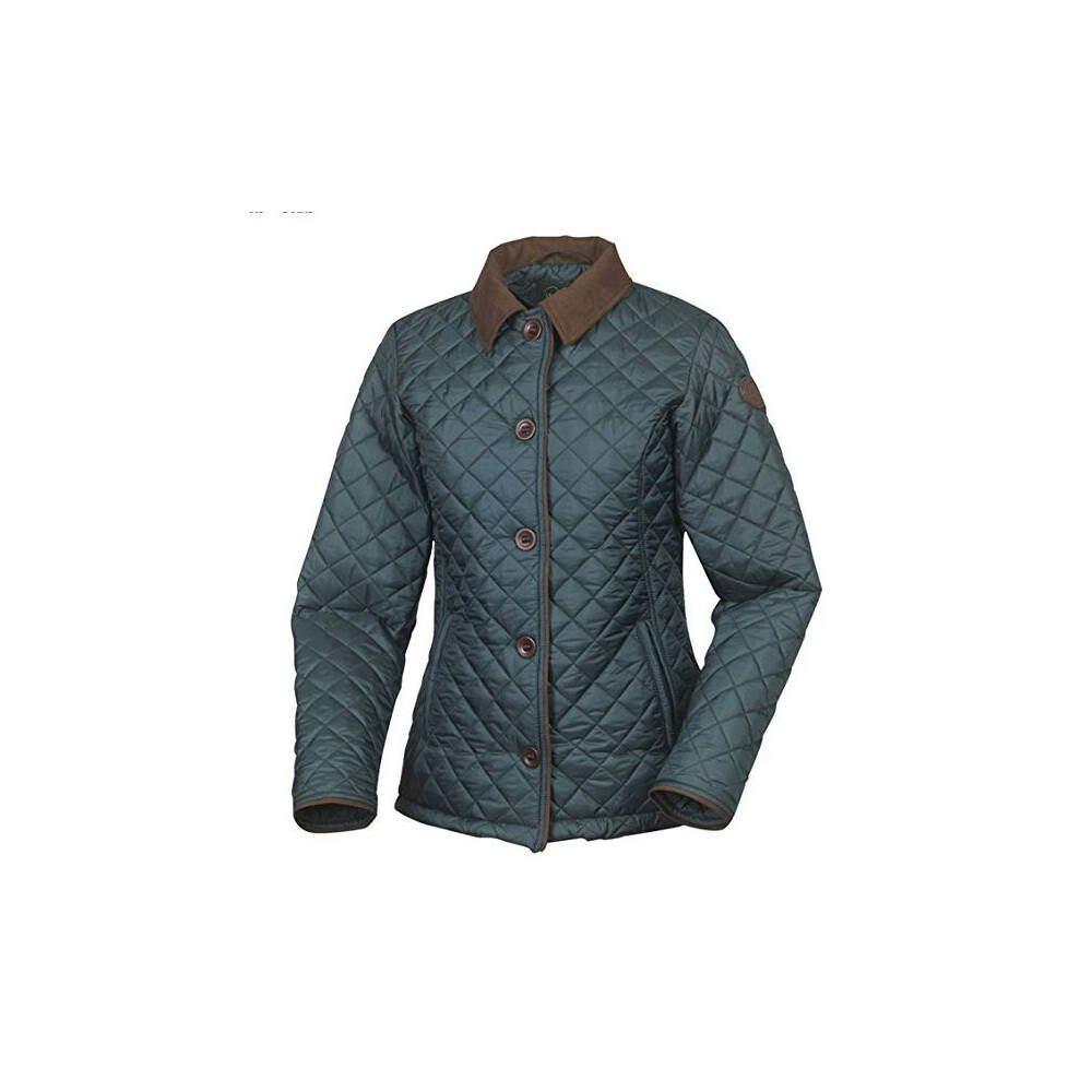 Le Chameau Spincourt Ladies Quilted Jacket - Green Green