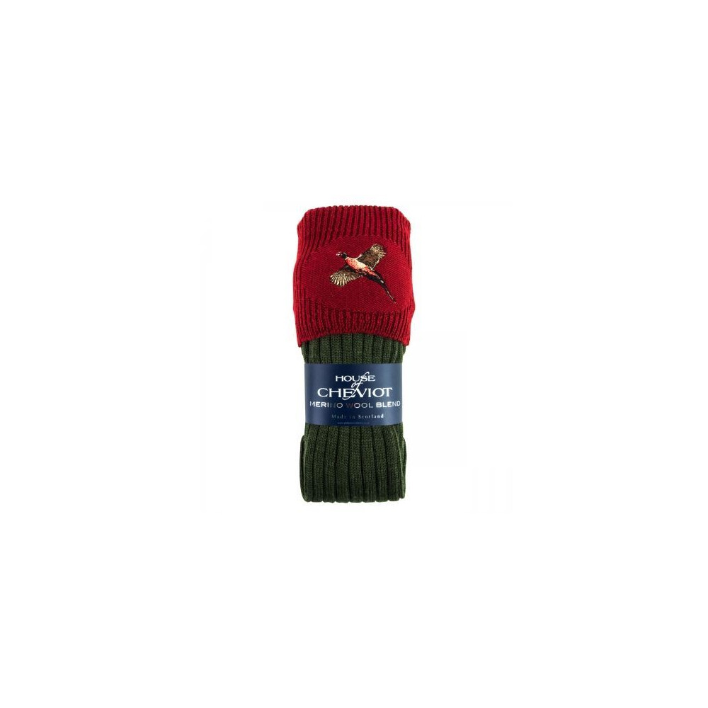 House of Cheviot Boys Lomond with Pheasant - Spruce/Red Spruce/Burgundy