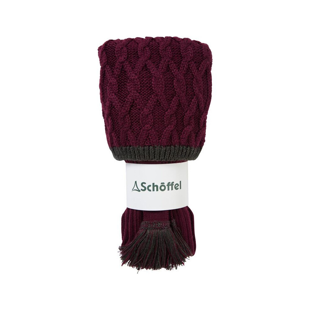 Schoffel Schoffel Lattice Sock - Mulberry