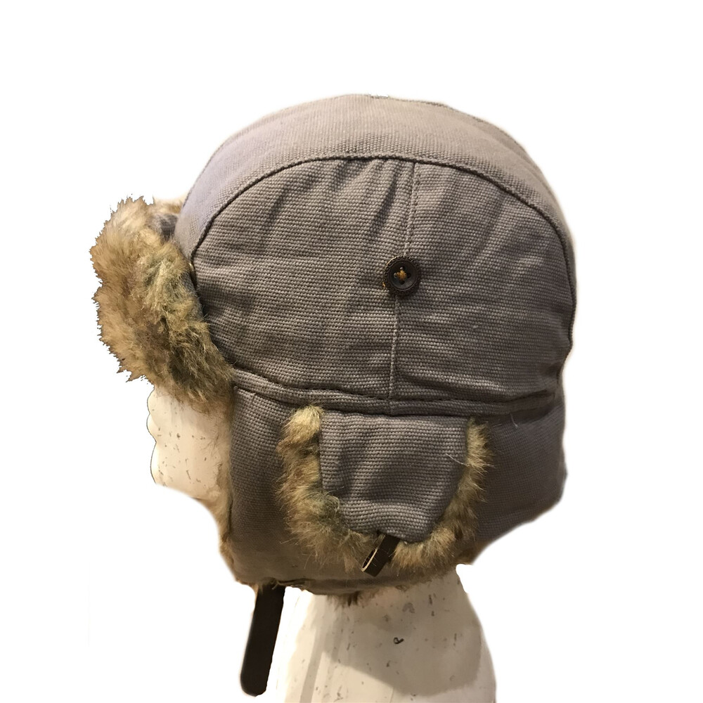 Unknown Kurt Canvas Trapper Hat Purple