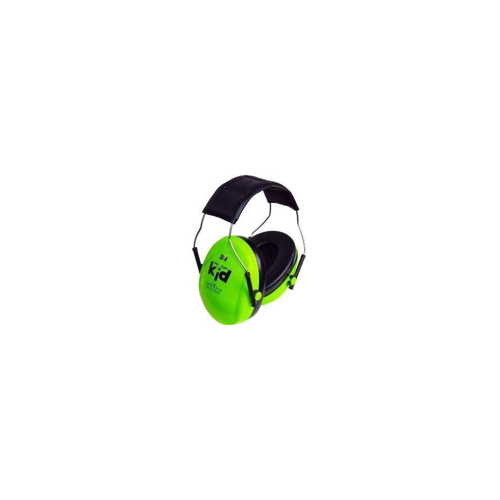 Peltor Kids Ear Defenders Green